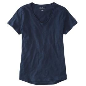 オーガニック・コットン・ティ、Vネック 半袖/Organic Cotton Tee V-Neck Short-Sleeve