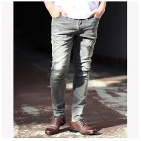 メンズビギ 別注distressed jeans メンズ ブラック M 【Men's Bigi】