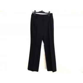 【中古】 ヨークランド YORKLAND パンツ サイズ11 M レディース ダークネイビー