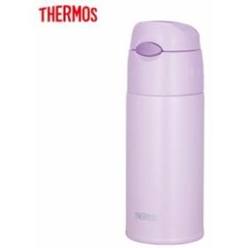 【送料無料】サーモス 水筒 0.4L 真空断熱ストローボトル FHL-401-LPL ライトパープル