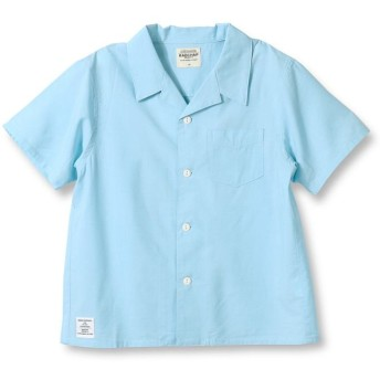 【40%OFF】 ブランシェス オープンカラーシャツ(90~140cm) メンズ サックス 120cm 【branshes】 【セール開催中】