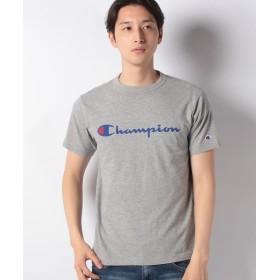 【16%OFF】 マルカワ チャンピオン ロゴ 半袖Tシャツ メンズ ミディアムグレー M 【MARUKAWA】 【タイムセール開催中】