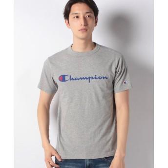 マルカワ チャンピオン ロゴ 半袖Tシャツ メンズ ミディアムグレー M 【MARUKAWA】