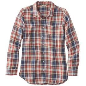 プレミアム・ウォッシャブル・リネン・シャツ、チュニック プラッド/Premium Washable Linen Shirt Tunic Plaid