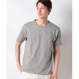 【33%OFF】 ジーンズメイト ドロップショルダーTシャツ メンズ モクグレー M 【JEANS MATE】 【タイムセール開催中】