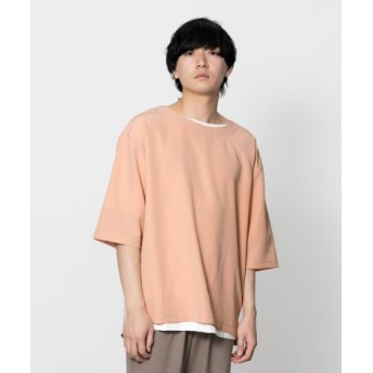 SENSE OF PLACE(センスオブプレイス) トップス Tシャツ・カットソー ボリュームプルオーバー(5分袖)