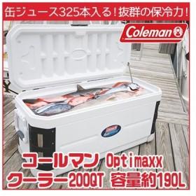 コールマン クーラーボックス Optimaxx クーラー / 200QT/容量約190L/ 釣り 大型