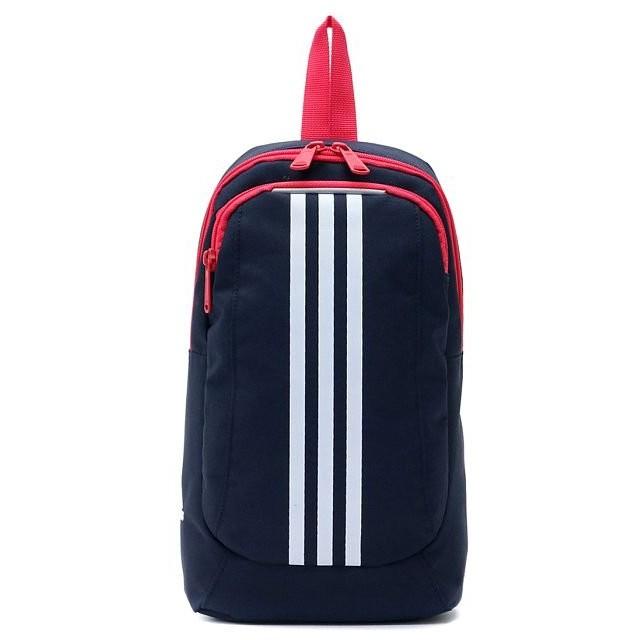 ギャレリア アディダス adidas ボディバッグ 6L 57454 ユニセックス ネイビー F 【GALLERIA】