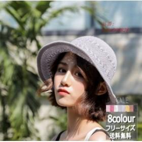 サファリハット つば広 帽子 レディース 春夏 新作 無地 オシャレ UVカットハット 日焼け止め 紫外線対策 サンバイザー ファッション