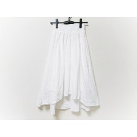 【中古】 ザ ヴァージニア The Virgnia スカート サイズ900 レディース アイボリー