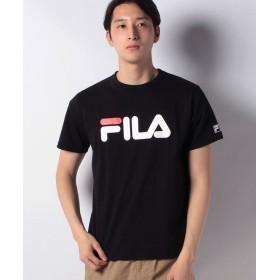 【39%OFF】 マルカワ フィラ ロゴ 半袖Tシャツ メンズ ブラック L 【MARUKAWA】 【タイムセール開催中】