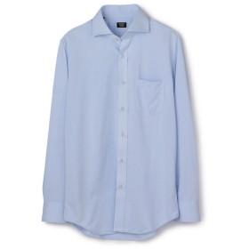 メンズビギ 《吸水速乾/EASY CARE》ホリゾンタルシャツ メンズ サックスブルー LL 【Men's Bigi】
