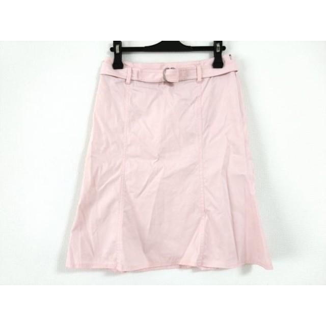 【中古】 バーバリーロンドン Burberry LONDON スカート サイズ36 M レディース ピンク