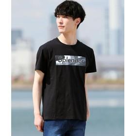 【19%OFF】 トップイズム 綿100%デザインロゴ半袖Tシャツ メンズ ブラック4 L 【TopIsm】 【タイムセール開催中】