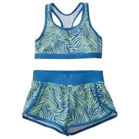 ガールズ・ビーンスポーツ・ショーツ・セット・スイムスーツ、プリント/Girls' BeanSport Short Set Swimsuit Print