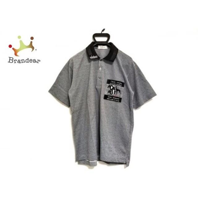 アダバット Adabat 半袖ポロシャツ メンズ グレー×黒   スペシャル特価 20190713