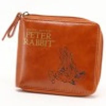 ピーターラビットラウンド二つ折り財布