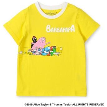 【40%OFF】 ブランシェス バーバパパ ダッシュデザインTシャツ(90~130cm) レディース イエロー 100cm 【branshes】 【セール開催中】
