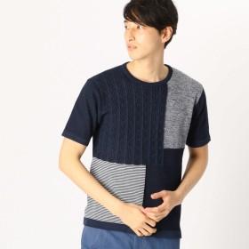 [マルイ]【セール】吸水速乾 ブロッキング ニットTシャツ/コムサイズムメンズ(COMME CA ISM)