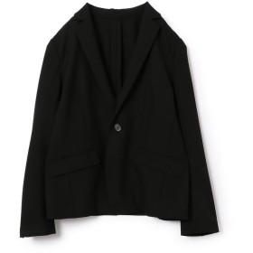 【35%OFF】 シップス テーラードジャケット レディース ブラック 36 【SHIPS】 【セール開催中】