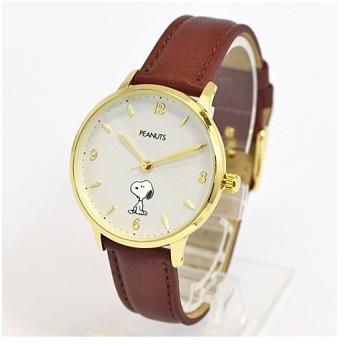欠品/フィールドワーク 腕時計 ウォッチ/スヌーピー シングルカラーウォッチ ブラウン PNT003-2(取寄せ/代引不可)