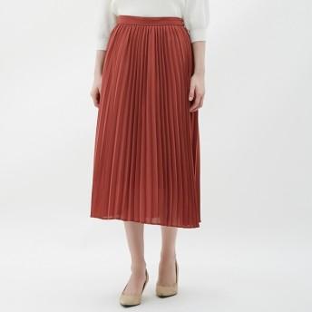 GU プリーツミディスカート