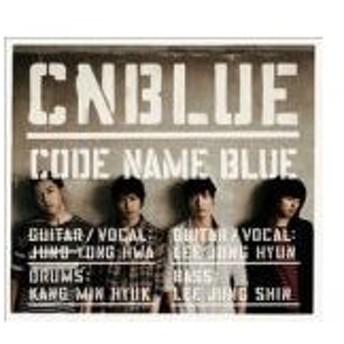 CNBLUE CD+DVD[CODE NAME BLUE]12/8/29発売 オリコン加盟店  初回限定盤 カレンダーカード+連動購入コードD封入