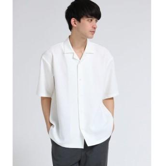tk.TAKEO KIKUCHI / ティーケー タケオキクチ ブッチャーオープンカラーシャツ