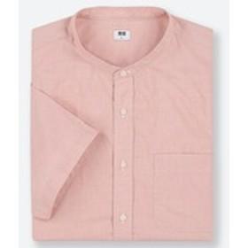 エクストラファインコットンブロードスタンドカラーシャツ(半袖)