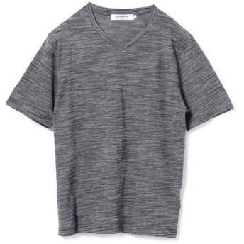 メンズビギ ミジンボーダーTシャツ メンズ ブルー系その他 LL 【Men's Bigi】