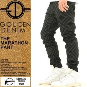 ゴールデンデニム/GOLDEN DENIM/ジョガーパンツ/ジョガーパンツ メンズ/大きいサイズ/サルエルパンツ/サルエル/柄/プリント/ストリート