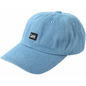 リー(Lee) メンズ レディース ボックスロゴキャップ BOX LOGO CAP LIGHT USED LA0321 56 【キャップ 帽子 おしゃれ カジュアル 通勤通