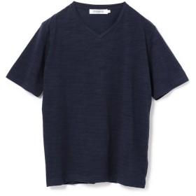 メンズビギ ミジンボーダーTシャツ メンズ ネイビー S 【Men's Bigi】