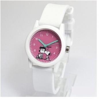 フィールドワーク 腕時計 ウォッチ/スヌーピー ラバーポップウォッチ ホワイト PNT004-1(取寄せ/代引不可)