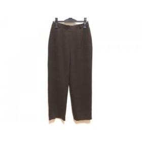 【中古】 レオナール LEONARD パンツ サイズ70 レディース ダークブラウン SPORT
