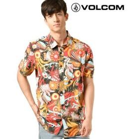 メンズ 半袖 シャツ VOLCOM ボルコム A0411911 Psych Floral S/S GG1 C23