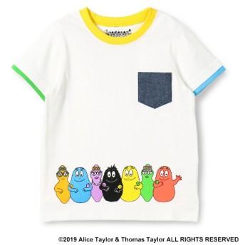 [マルイ]【セール】バーバパパ 胸ポケット付きTシャツ/ブランシェス(branshes)
