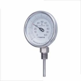 SATO 佐藤バイメタル温度計BMーS型 2030-42