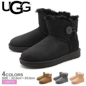 UGG アグ ムートンブーツ レディース アグブーツ シューズ 靴 ミニベイリーボタン II 1016422