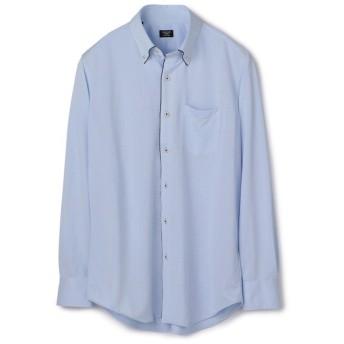 メンズビギ 《吸水速乾/EASY CARE》パイピングシャツ メンズ サックスブルー LL 【Men's Bigi】