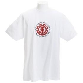 エレメント 【オンライン特価】 SEAL 半袖Tシャツ AJ021202 WHT (Men's)