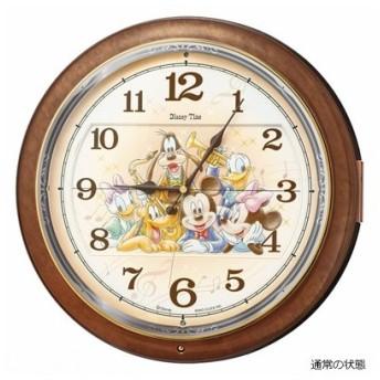 SEIKO(セイコー) ディズニータイム 電波掛時計 からくり時計/ミッキー&ミニー メロディ付 FW587B(取寄せ/代引不可)
