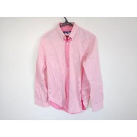 【中古】 コムデギャルソンジュンヤワタナベメン 長袖シャツ サイズS メンズ ピンク