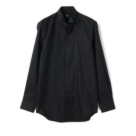 【50%OFF】 メンズビギ シャドーグレンチェックシャツ メンズ ブラック S 【Men's Bigi】 【セール開催中】
