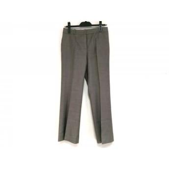 【中古】 ランバンコレクション LANVIN COLLECTION パンツ サイズ38 M レディース ブラウン