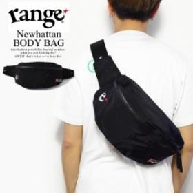 range レンジ Newhattan BODY BAG メンズ ボディバッグ バッグ ウエストバッグ 鞄 ニューハッタン ストリート atfbag