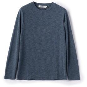 メンズビギ クルーネックロングスリーブTシャツ メンズ ブルー L 【Men's Bigi】