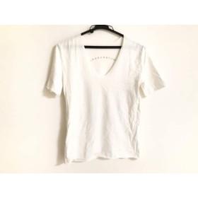 【中古】 ルシアンペラフィネ lucien pellat-finet 半袖Tシャツ サイズXS レディース 白 スタッズ/スカル