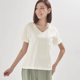 VネックTシャツ【冷却効果プリント使用】