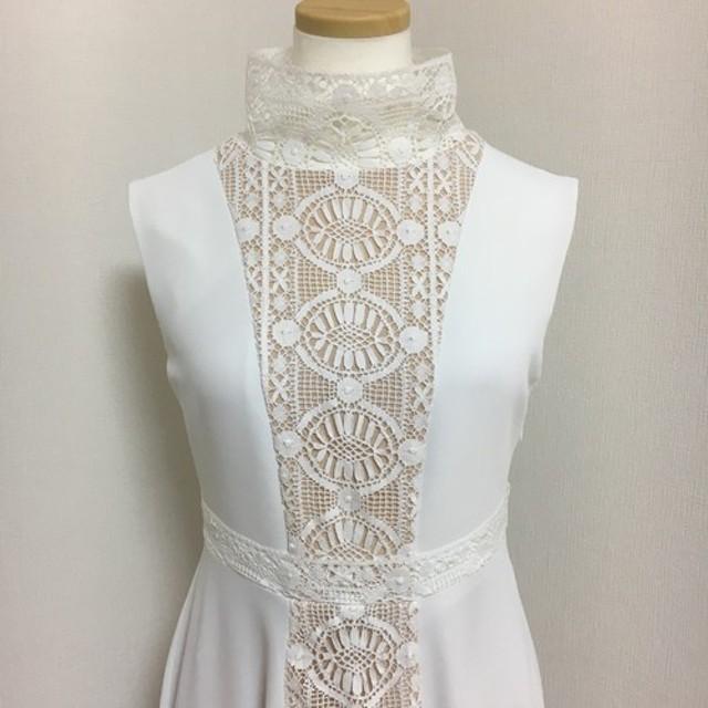 受注製作 イギリスコットンレース ドレス